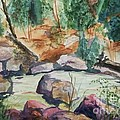 Bridge To The Hot Springs by Ellen Levinson