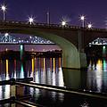 Bridges At Night by Melinda Fawver
