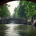 Bridges In Amsterdam by Randall Nyhof