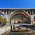 bridges in Sori by Antonio Scarpi