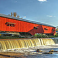 Bridgeton Bridge And Mill by Harold Rau