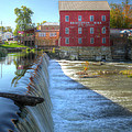 Bridgeton Grist Mill by Harold Rau