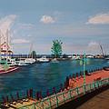 Bridgetown Boardwalk by Tyrell Wade