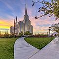 Brigham City Sunset by Dustin  LeFevre