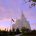 Brigham City Temple I by Chad Dutson
