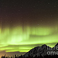 Bright Aurora Borealis, Annie Lake by Philip Hart