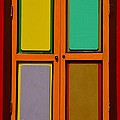 Bright Colorful Window Shutters With Four Panels by Imran Ahmed