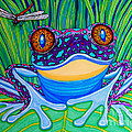 Bright Eyed Frog by Nick Gustafson