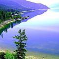 Bright Kootenay Lake by Mavis Reid Nugent