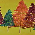 Bright Trees by Kimberly Maxwell Grantier