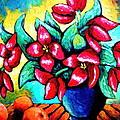 Bright Tulips by Sebastian Pierre