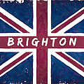 Brighton Distressed Union Jack Flag by Mark E Tisdale