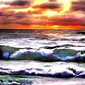 Brilliant Nags Head Sunrise by Elaine Plesser