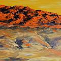 Brilliant Montana Mountains And Foothills by Cheryl Nancy Ann Gordon