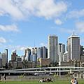 Brisbane City by Jola Martysz