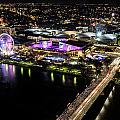 Brisbane South Bank From The 32nd Floor by Silken Photography
