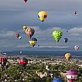 Bristol Balloon Fiesta Bristol by Doug McKinlay