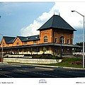 Bristol Train Station Bristol Virginia by Denise Beverly