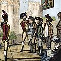 British Army, 1770s by Granger