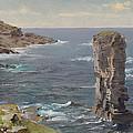British Coastal View. Coast Of Cornwall by William Trost Richards