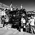 british english souvenir stall London England UK by Joe Fox