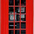 British Phone Box by Philip Ralley