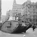 British Tank In New York by Library Of Congress/science Photo Library