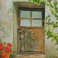Brittany  Door by Mary Ellen Mueller Legault