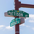 Broad And Pattison Where Philly Sports Happen by Photographic Arts And Design Studio