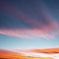 Broad Brushstrokes Of Clouds Paint by Robbie George