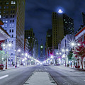 Broad Street At Night by Bill Cannon