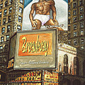 Broadway Billboards - New York Art by Peter Potter