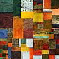 Brocade Color Collage 1.0 by Michelle Calkins