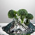 Broccoli Freshsplash by Steve Gadomski