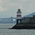 Brockton Point Lighthouse by Nicki Bennett