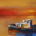 Brod Na Klisanskom Kanalu by Sinisa Mihajlovic