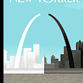 Broken Arch. A Scene From St. Louis by Bob Staake