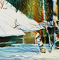 Broken Birch by Teresa Ascone