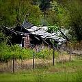 Broken Down Homestead - Vaseux Lake by Guy Hoffman