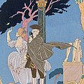 Broken Hearts Broken Statues by Georges Barbier