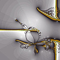 Broken Jewelry-fractal Art by Lourry Legarde