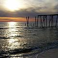 Broken Pier by Tania Eddingsaas