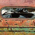 Broken Rear View Window by Gene Rodman
