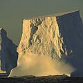 Broken Tabular Icebergs Antarctica by Gerry Ellis