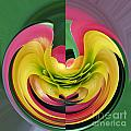 Bromiliad Abstract by Darleen Stry