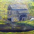 Bromley Mill At Cuttalossa Farm by Loretta Luglio
