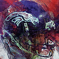 Broncos Art  by David G Paul