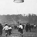 Bronx Parachute Leap by Underwood Archives