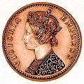 Bronze Empress Victoria by Fred Larucci