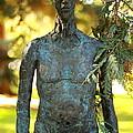 Bronze Man by Scott Hill